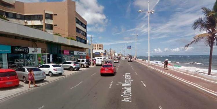 Crime ocorreu na avenida Octávio Magabeira, em frente à rua Piauí - Foto: Reprodução | Google Maps