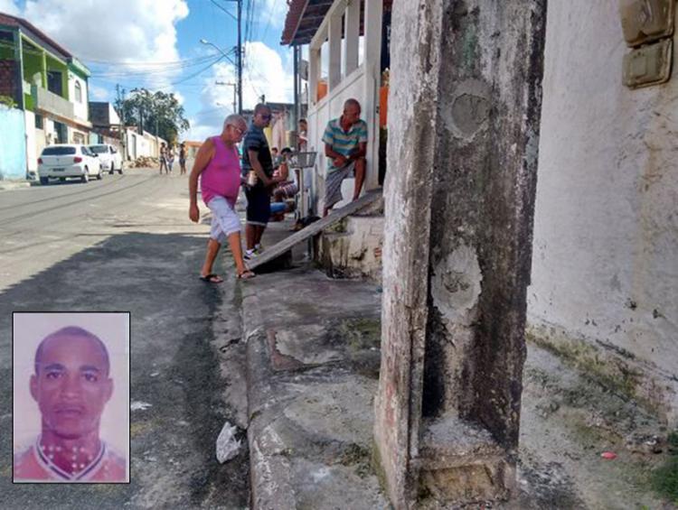 Buracos no poste foram tapados porque Marilene os usava como escada para espiar casa do ex - Foto: Euzeni Daltro l Ag. A TARDE