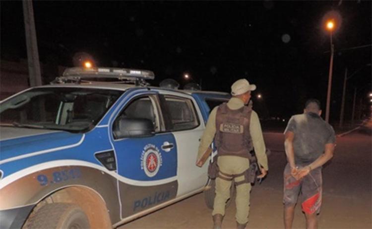 Vinicius Vargas foi preso em flagrante no oeste da Bahia - Foto: Reprodução | Blog Braga