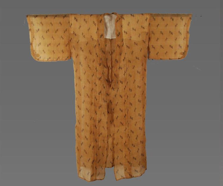 Quimono produzido com tecido bashofu - Foto: Reprodução