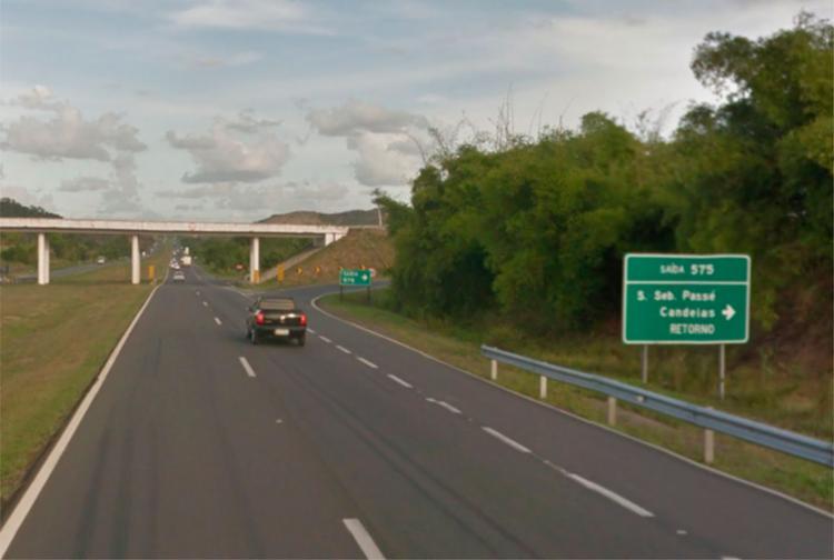 O acidente aconteceu na BR-324, em São Sebastião do Passé - Foto: Reprodução | Google Maps