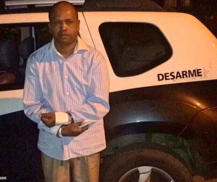 Sebastião Braz da Fonseca Neto foi preso na noite desta sexta-feira - Foto: Divulgação