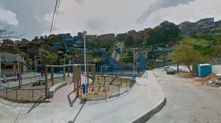 Crime aconteceu próximo ao Plano Inclinado que liga a Calçada ao bairro da Liberdade - Foto: Reprodução | Google Maps