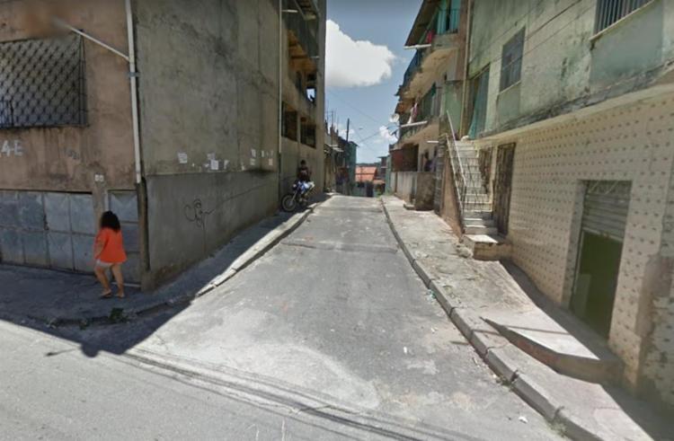 Crime ocorreu na travessa Lua Nova, transversal da rua Bahia - Foto: Reprodução | Google Maps