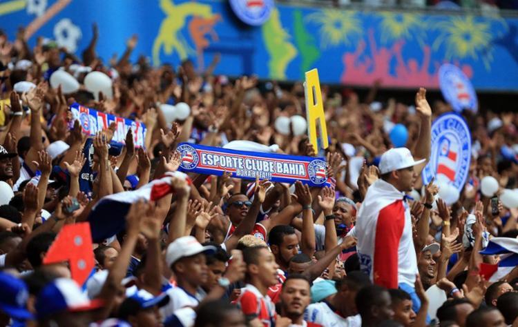 Série recorde como mandante em jogo - Foto: Felipe Oliveira | Divulgação | E.C.Bahia