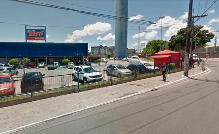 Crime aconteceu no Supermercado Hiper Bompreço - Foto: Reprodução   Google Maps