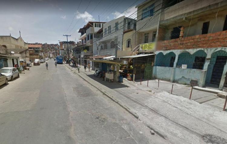 Crime aconteceu na rua Doutor Aristides de Oliveira, próximo ao final de linha - Foto: Reprodução | Google Maps