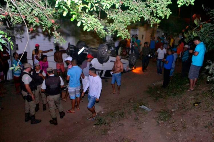 Watila Soares foi arremessado para fora do carro - Foto: Reprodução | Itapetinga na Mídia