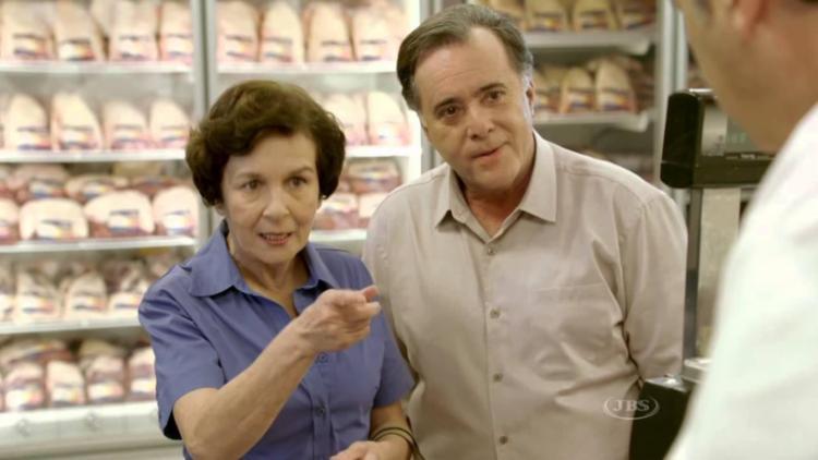 Ator global era garoto-propaganda da marca frigorífica Friboi - Foto: Reprodução   YouTube