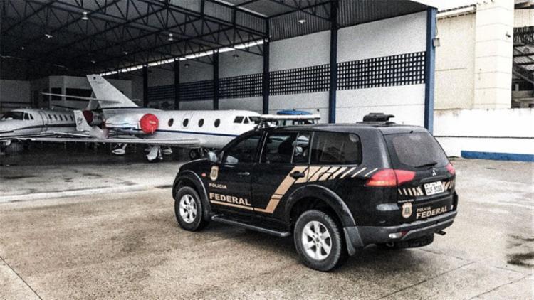 Aeronave foi alvo de ação da Polícia Federal - Foto: Divulgação   PF