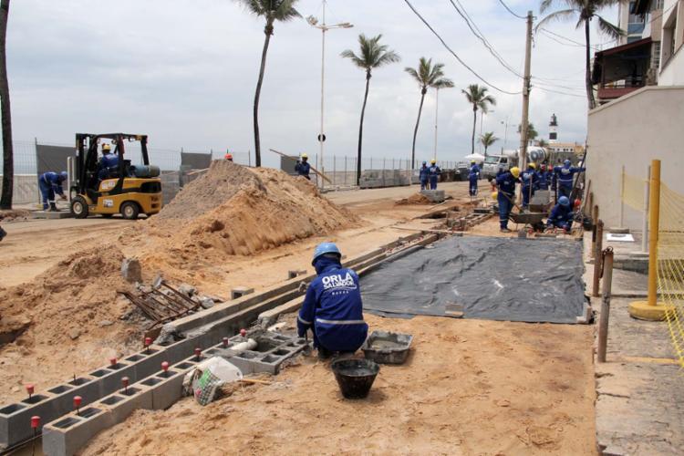 Políticos baianos pediram investigação sobre obras de requalificação - Foto: Joá Souza   Ag. A TARDE   20.12.2013