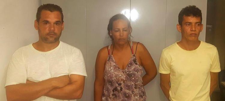 Os policiais encontraram com os suspeitos 12 quilos de maconha - Foto: Divulgação | SSP