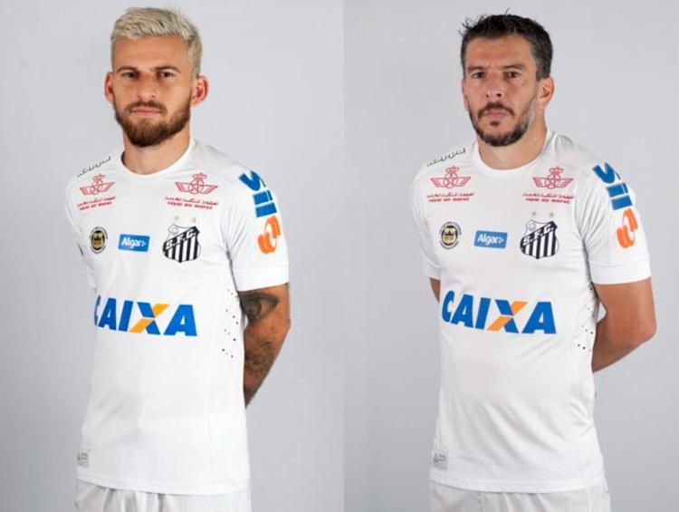 Técnico Levir Culpi não incluiu os dois jogadores na lista dos relacionados para o jogo desta quarta - Foto: Divulgação | Santos FC