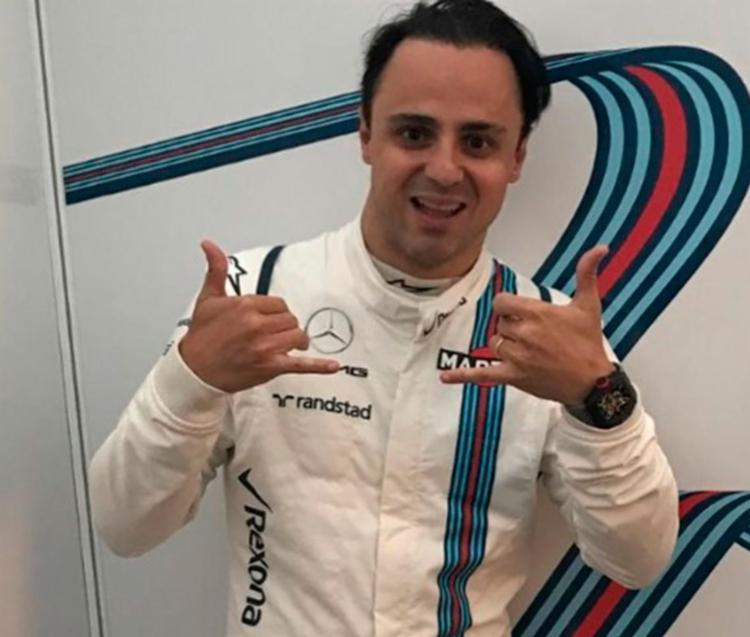 Massa marcou 43 pontos para Williams e chegou perto de ganhar o GP do Azerbaijão - Foto: Reprodução | Instragram