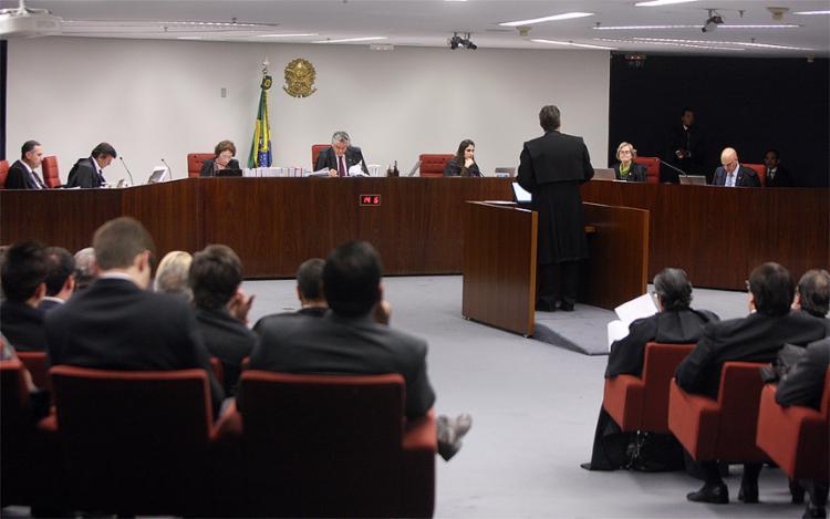 Primeira Turno do Supremo adiou o julgamento do pedido de prisão do senador afastado - Foto: Nelson Jr. l SCO l STF