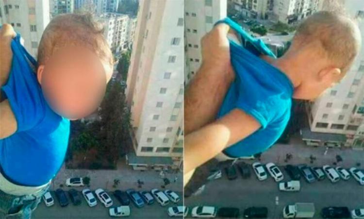 Suspeito postou a foto em seu no perfil do Facebook com a legenda: