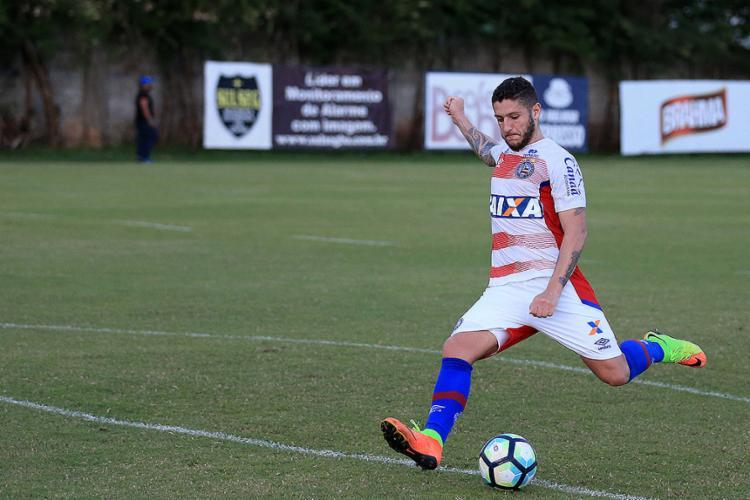Para Zé Rafael, Bahia deve apostar na marcação alta - Foto: Felipe Oliveira l EC Bahia