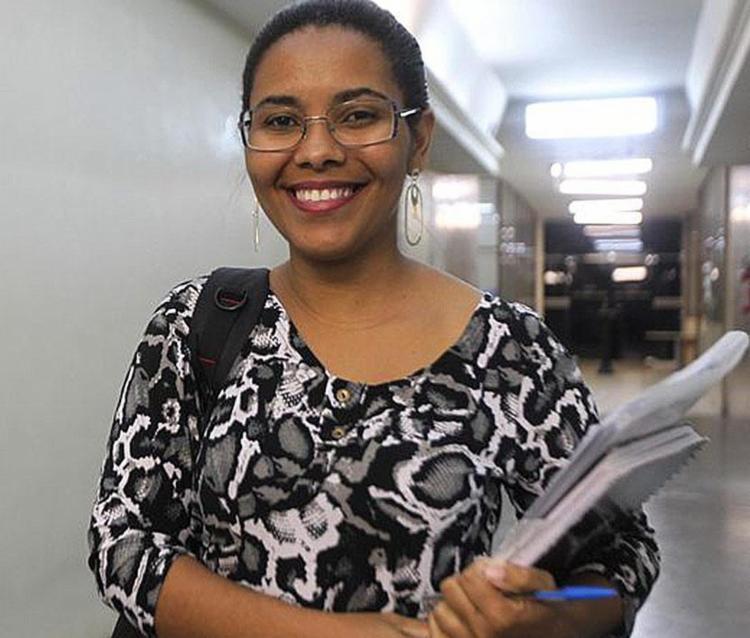 A universitária Abigail Moreno, que cursa fonoaudiologia, foi uma das convocadas - Foto: Alberto Coutinho | GOV-BA