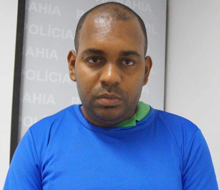 Robson foi apresentado como chefe dos traficantes - Foto: Divulgação   SSP