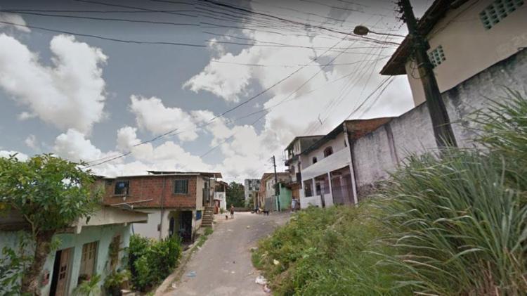 Jovem foi baleado na rua Nelson Lacerda - Foto: Reprodução | Google Maps