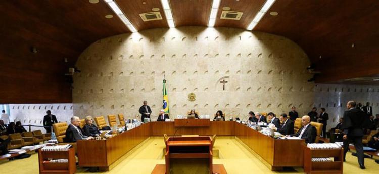 Plenário do STF ficou dividido e Cármen Lucia desempatou a decisão - Foto: Marcelo Camargo l Agência Brasil
