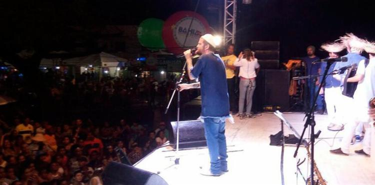 Saulo comanda a festa na praça João Martins - Foto: Jones Araújo   Ag. A TARDE
