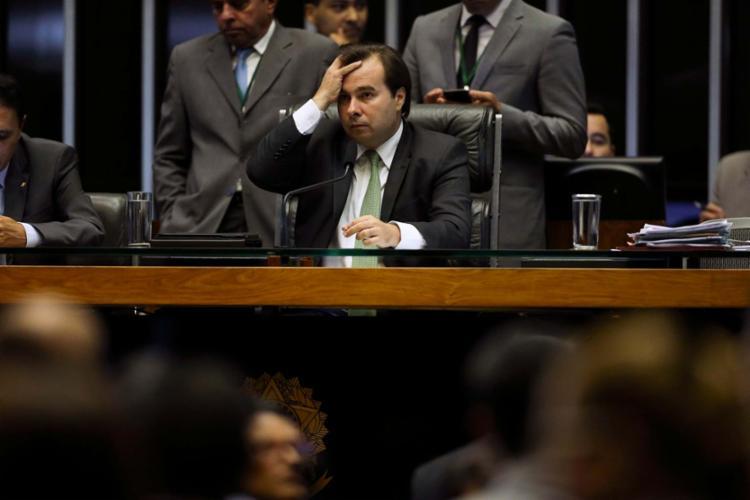 Com a recente viagem de Temer, Maia ocupa interinamente a Presidência da República - Foto: Marcelo Camargo   Agência Brasil