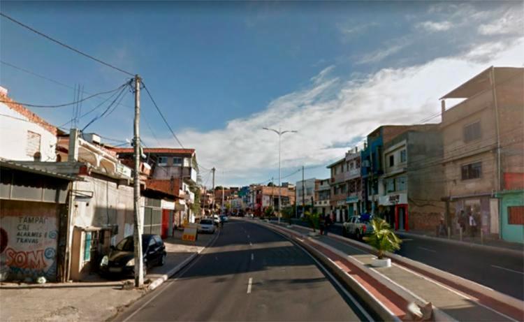 Crime aconteceu na avenida Afrânio Peixoto, mais conhecida como Suburbana, - Foto: Reprodução | Google Maps