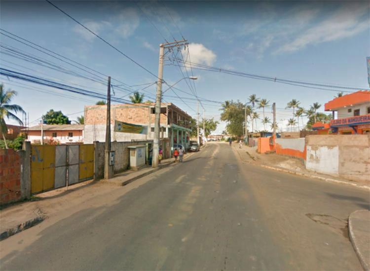 Crime aconteceu na rua Djanira Maria Bastos - Foto: Reprodução   Google Maps