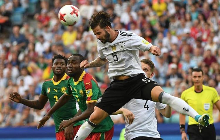 Com a vitória, os alemães se tornam líderes do Grupo B - Foto: Patrik Stollarz | AFP