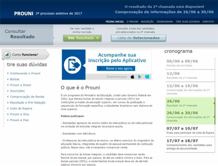 A lista com a documentação a ser apresentada está disponível no site do ProUni - Foto: Divulgação