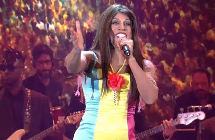 O ator conquistou os jurados e o público - Foto: Reprodução | TV Globo
