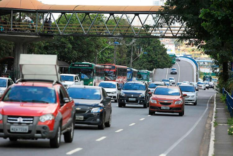 Áreas serão interditadas para intervenções de passarelas - Foto: Joá Souza | Ag. A TARDE