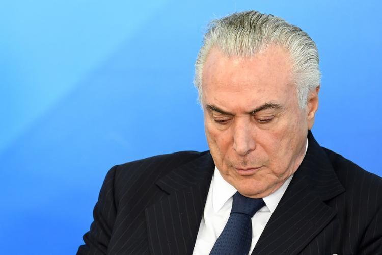 Procurador-geral da República imputa crime ao presidente no caso JBS - Foto: Evaristo Sa l AFP