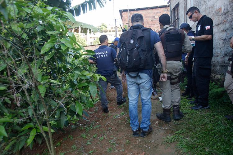 Nenhum familiar da vítima esteve no local do crime - Foto: Margarida Neide l Ag. A TARDE