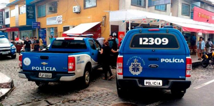 O crime aconteceu dentro de uma lanchonete no centro de Porto Seguro - Foto: Reprodução | Radar 64