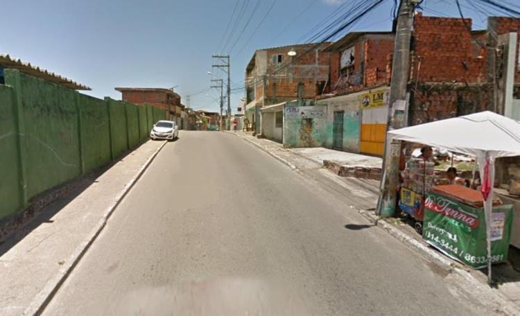 Crime aconteceu na rua Manoel Rufino, conhecida como rua Direta do Arenoso - Foto: Reprodução | Google Maps