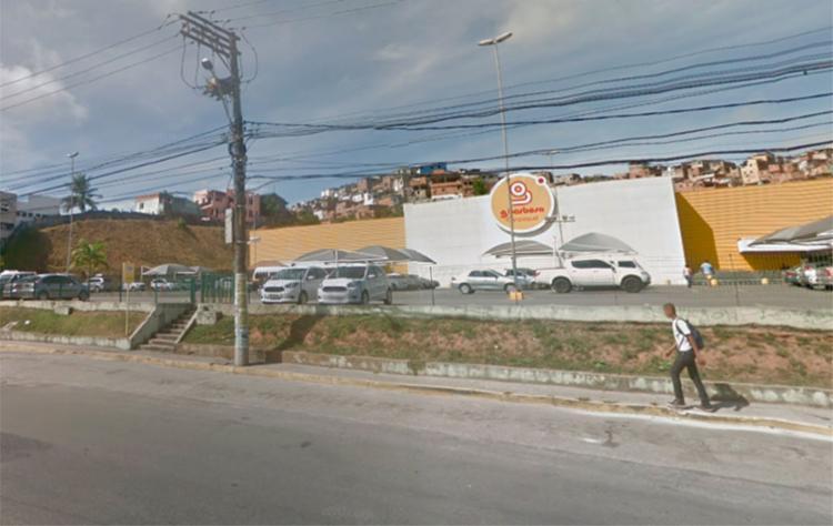 O crime aconteceu na noite desta terça, 27, na loja do G Barbosa, na San Martin - Foto: Reprodução | Google Maps