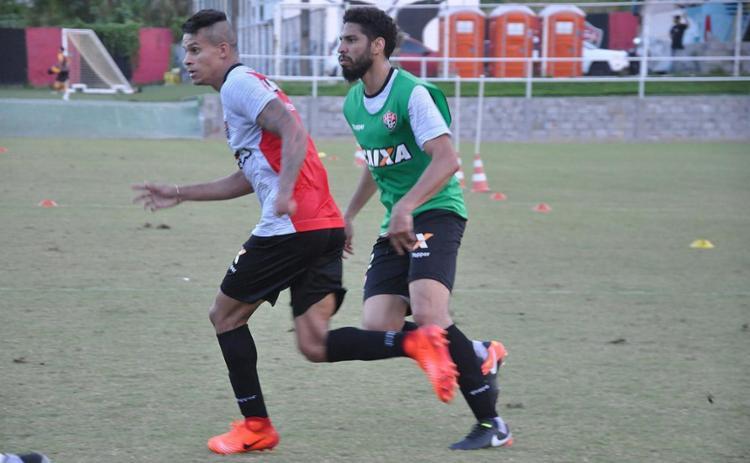 Zagueiro Wallace treina na Toca e pode ser anunciado - Foto: Maurícia da Matta l EC Vitória