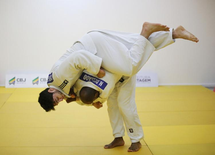 Judocas da seleção estão em fase final de preparação para o Mundial - Foto: Mayara Ananias | CBJ
