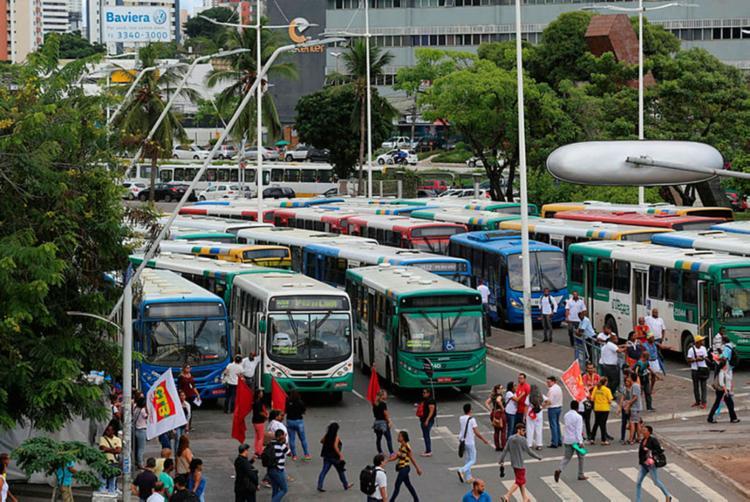 Manifestações acontecerão na região do Shopping da Bahia e no Campo Grande - Foto: Xando Pereira | Ag. A TARDE