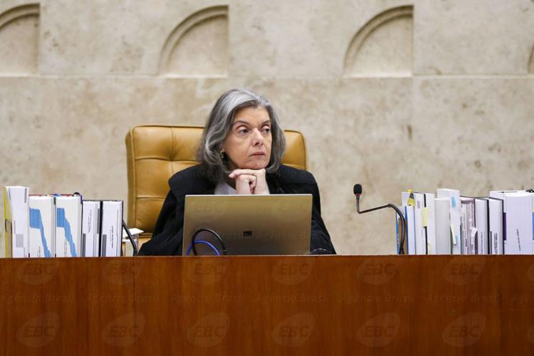 Cármén Lúcia votou a favor da possibilidade de o ensino religioso ser confessional - Foto: Marcelo Camargo l Agência Brasil