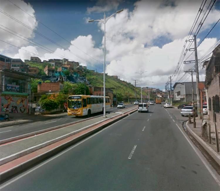Dois dos crimes aconteceram na Av. Afrânio Peixoto, no Lobato - Foto: Reprodução | Google Maps
