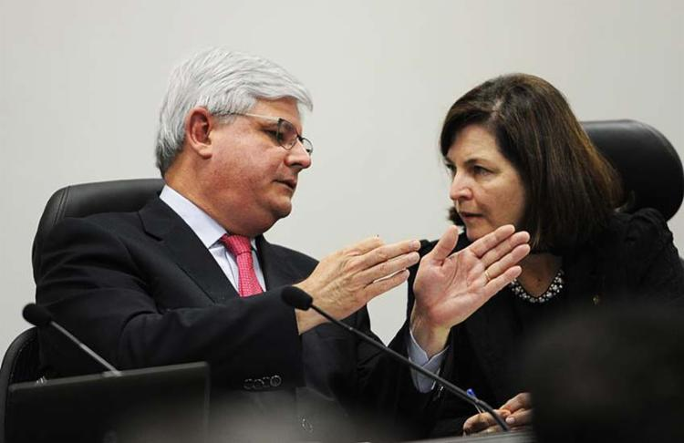 Se aprovada no Senado, Raquel Dodge ocupará o lugar de Rodrigo Janot - Foto: Agência Brasil