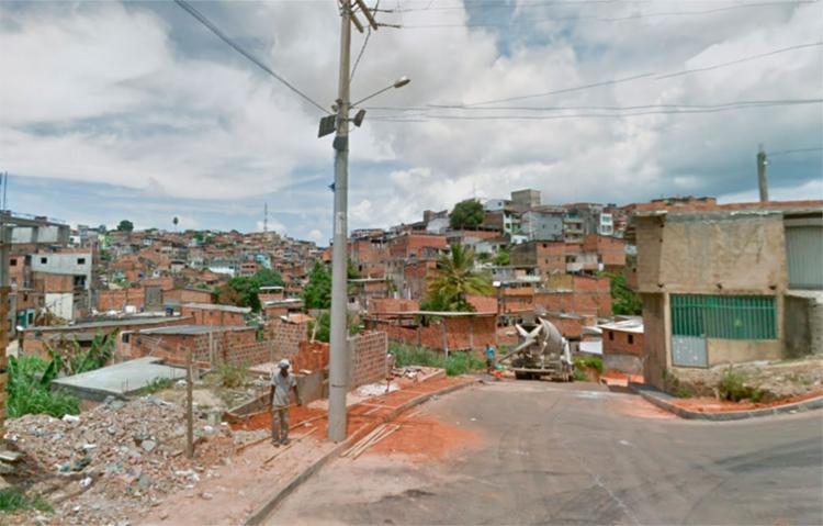 O crime aconteceu na rua Porto Alegre, na esquina com a rua Afra Dias Ferreira, em Tancredo Neves - Foto: Reprodução   Google Maps