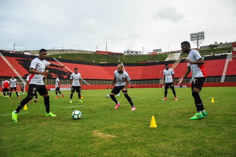 Alexandre Gallo não divulgou o time titular do Leão para o clássico - Foto: Mauricia da Matta l EC Vitória