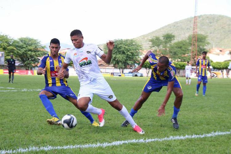 Na 1ª fase, dois confrontos: um empate e um triunfo para o Cajazeiras - Foto: Francisco Galvão l CEC