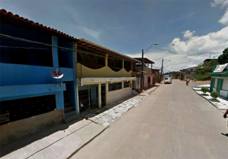 Crime aconteceu na rua Santa Efigênia, no bairro Novo Horizonte - Foto: Reprodução   Google Maps