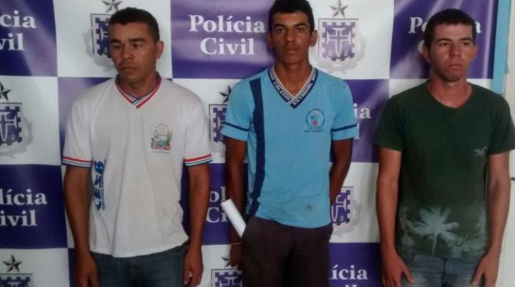 A polícia cumpriu o mandado de prisão preventiva contra o trio - Foto: Reprodução   Blog o Cleber Vieira