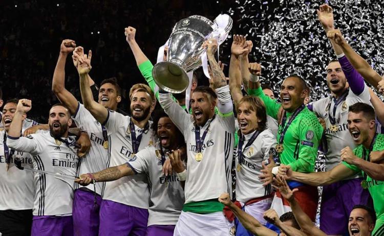 É a 12ª vez que o clube espanhol conquista o título - Foto: Javier Soriano | AFP